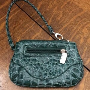 Snake skin look small wallet New York